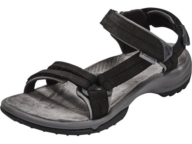 Teva Terra Fi Lite Leather Sandalen Dames zwart